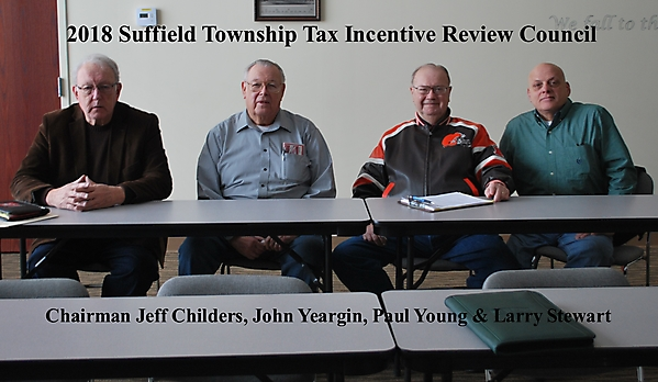 2018 Suffield Township Tax Incentive Review Council B