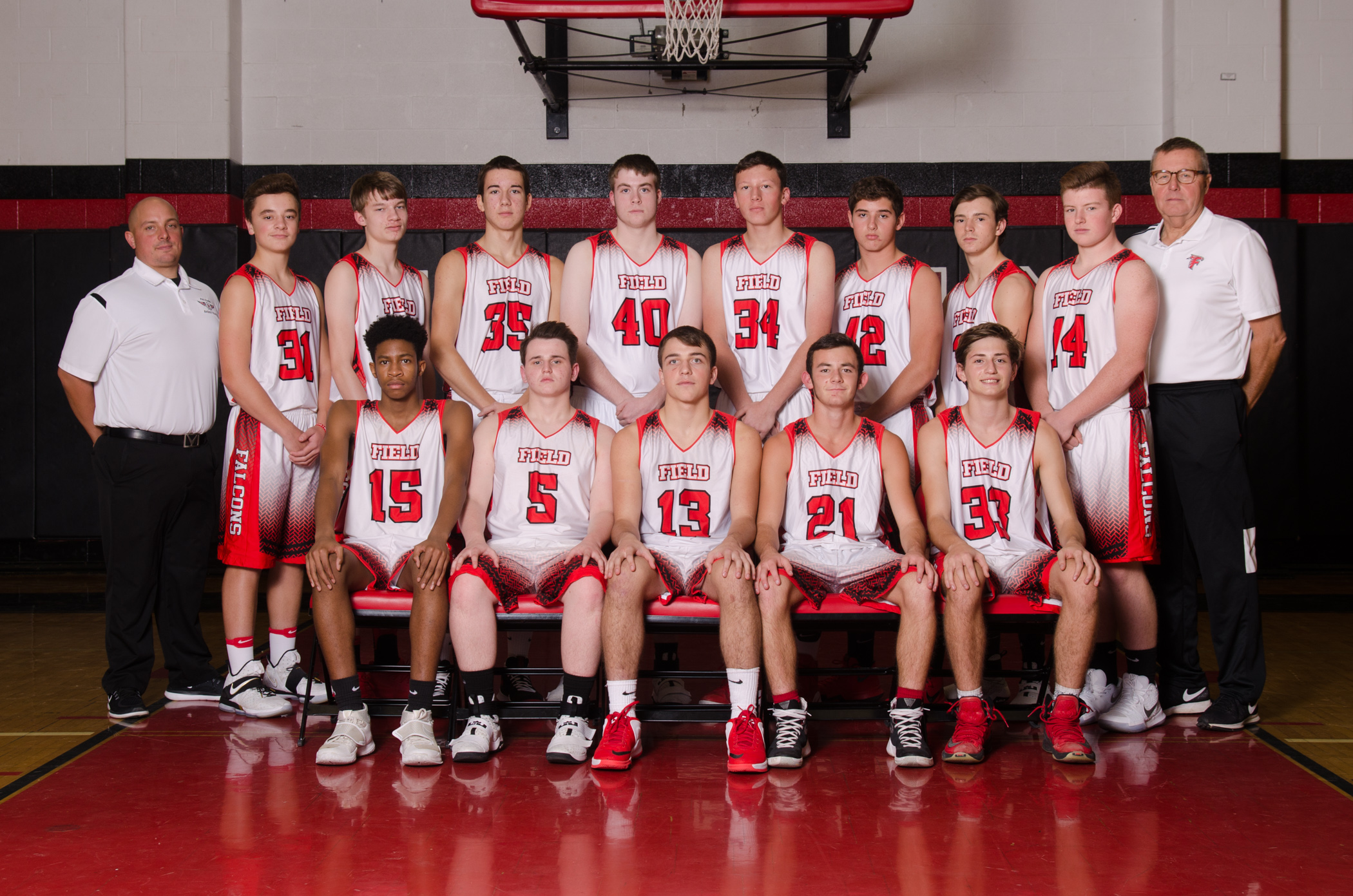 2017 Field JV Boys Basketball
