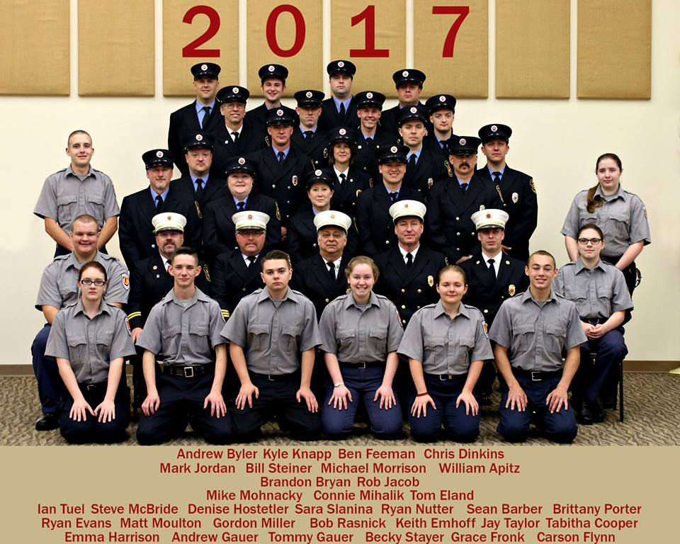 2017 Suffield Fire Department staff