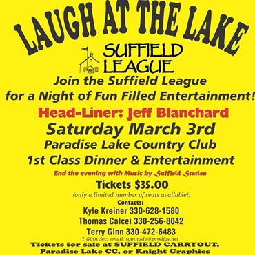 2018 Laugh at the Lake flyer