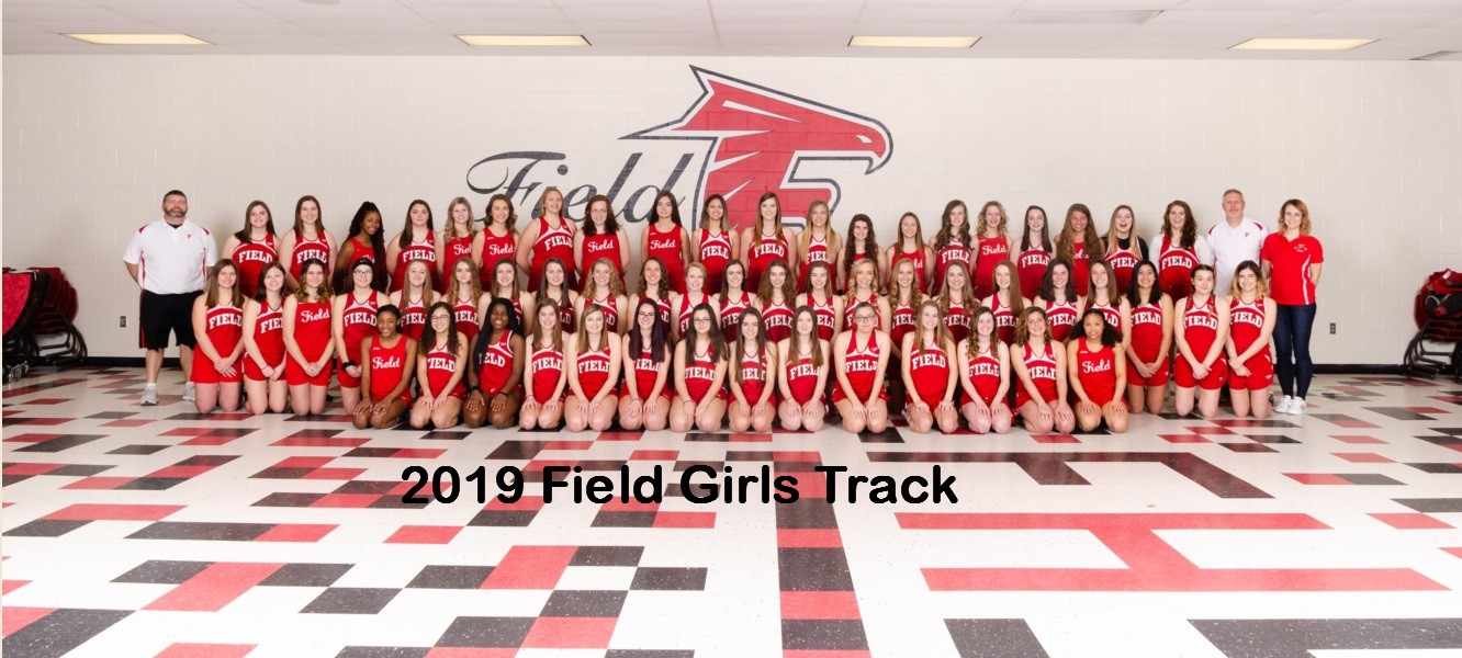 2019 Field Girls Varsity Track team.jpg with text