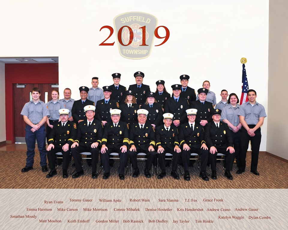 2019 Fire Department staff