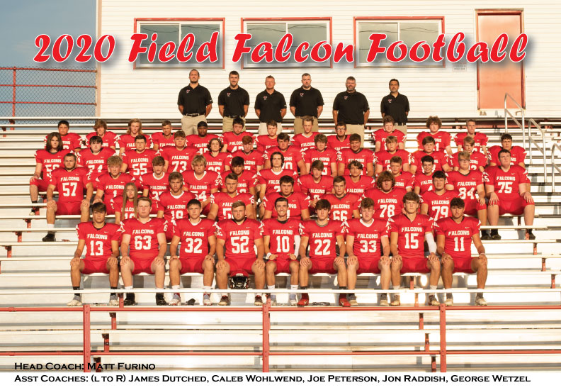 2020 Field Varsity Football team
