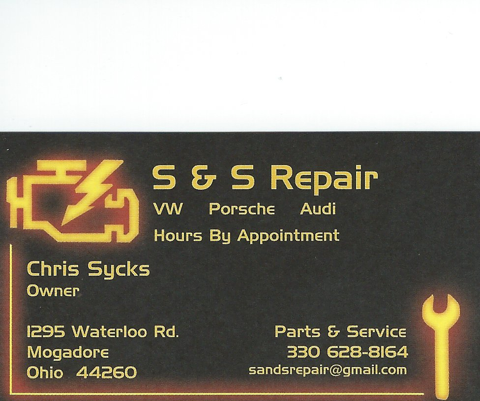 Chris Sycks SS Repair