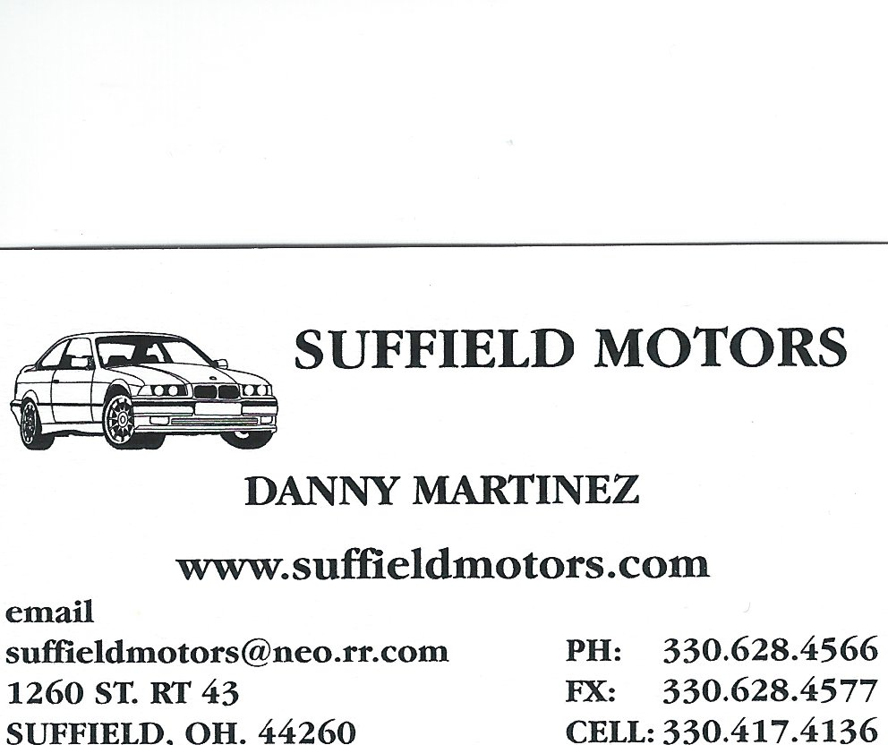 Danny Martinez Suffield Motors