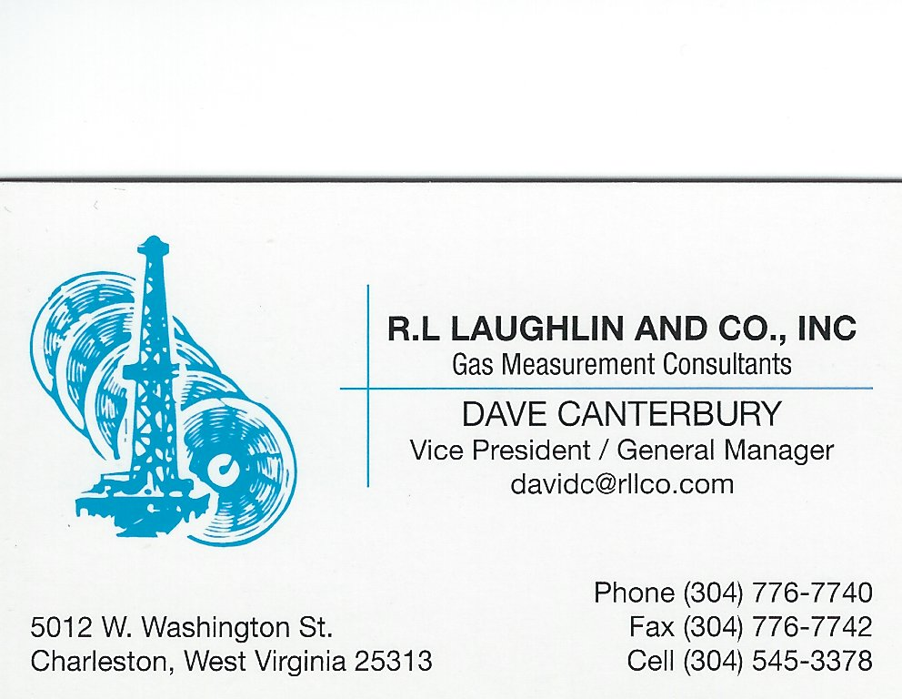 Dave Canterbury R.L. Laughlin Co