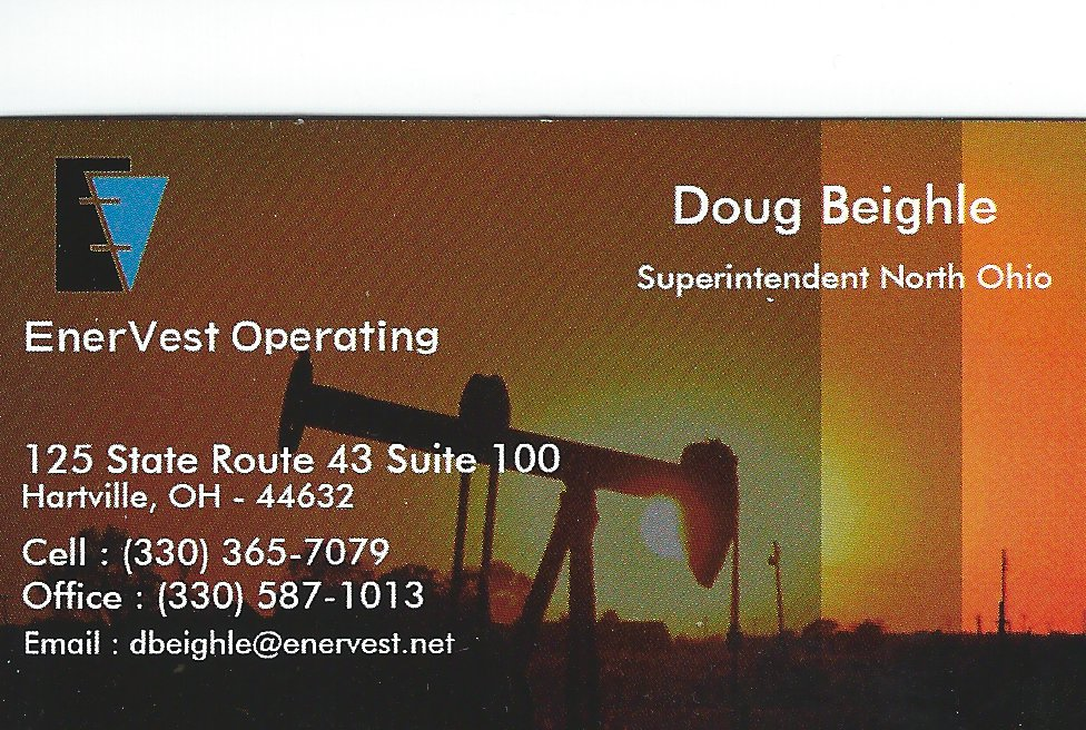 Doug Beighle EnerVest Operating