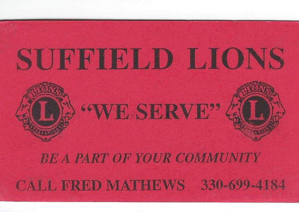 Fred Mathews Lions Club redone