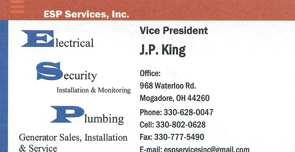 J.P. King ESP Services 2