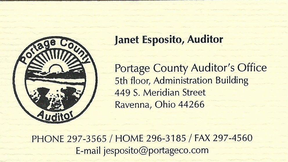 Janet Esposito Portage County Auditor