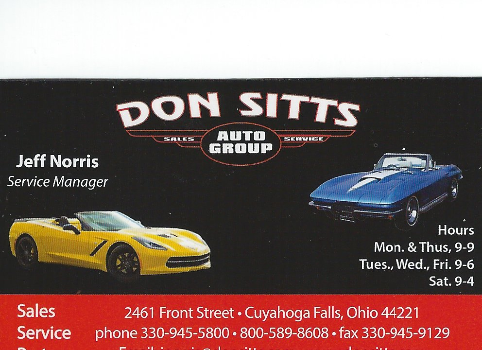 Jeff Norris Don Sitts Auto