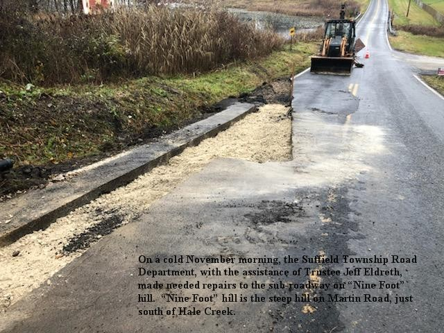 Martin Road repair 11 20 2018 A w text