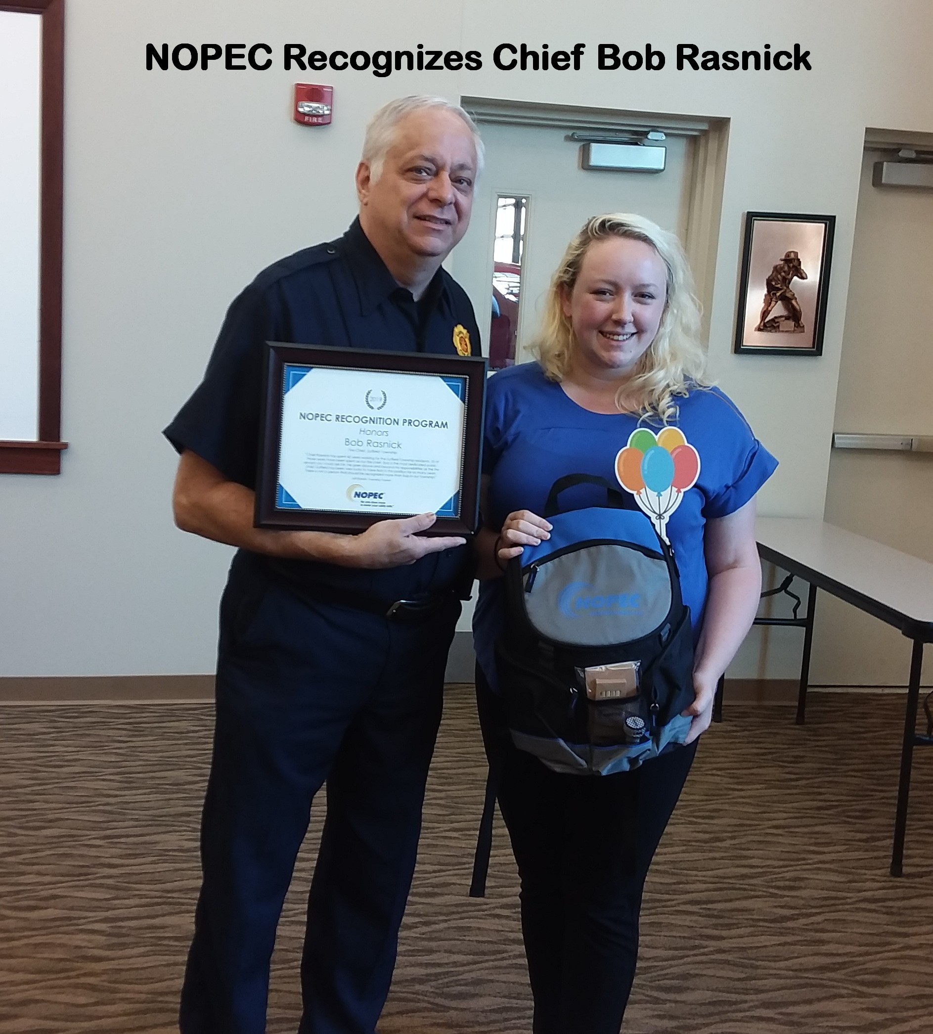 Nopec Recognizes Bob Rasnick 07 23 2019