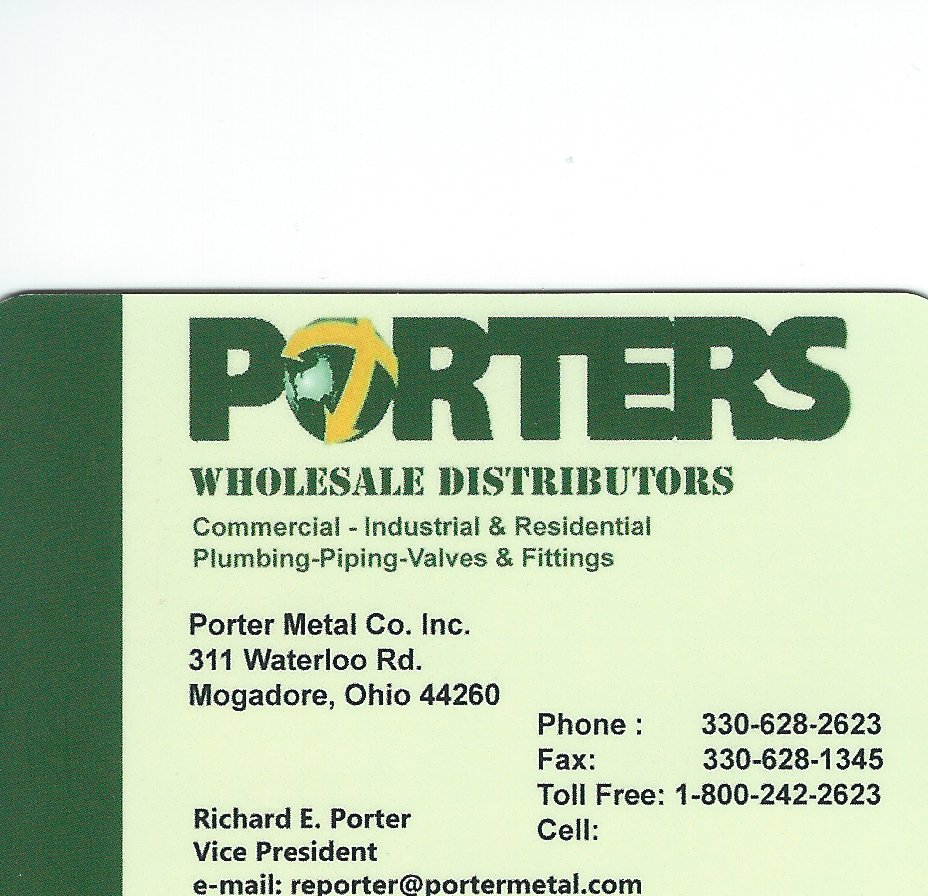 Richard J. Porter Porter Wholesale