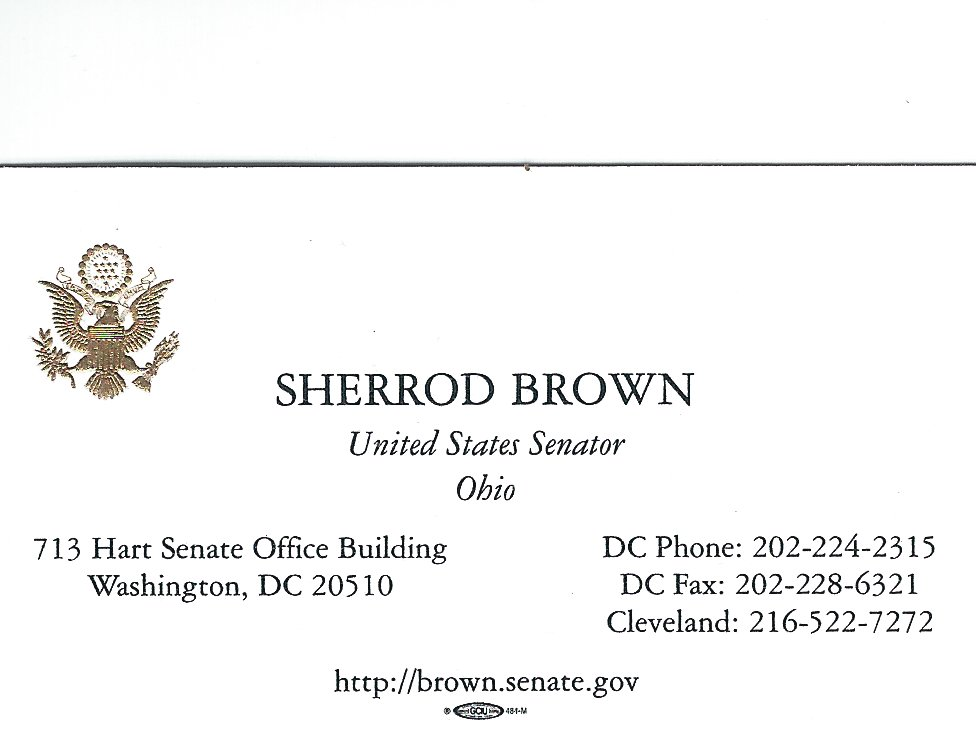 Sherrod Brown US Senate