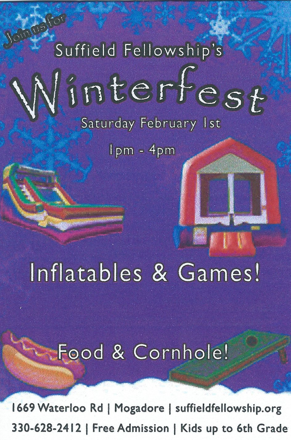 Suffield Fellowship Winterfest