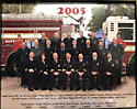 2005 Suffield Fire Department staff