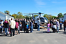 University Hospitals medical helicopter at Fire House Open House, October 11, 2015