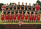 2015 Field High School Cross Country teams